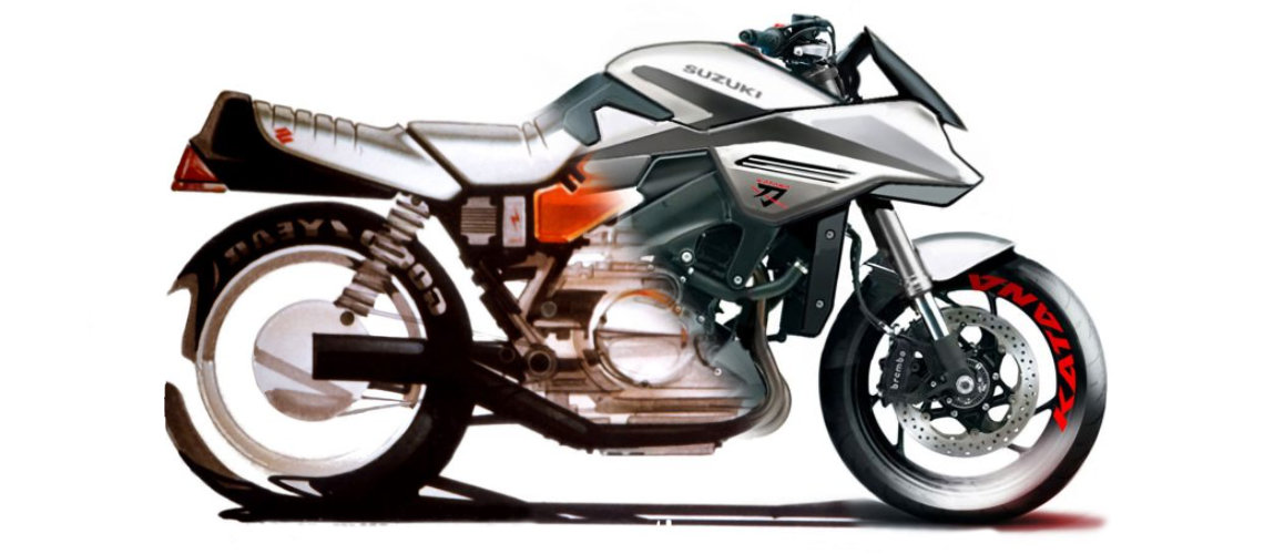 Design comparison between old and new Suzuki Katana