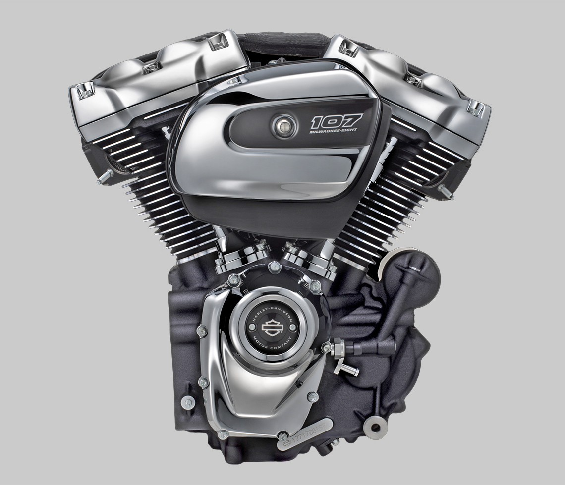 Harley-Davidson Milwaukee Eight 107 V-Twin engine