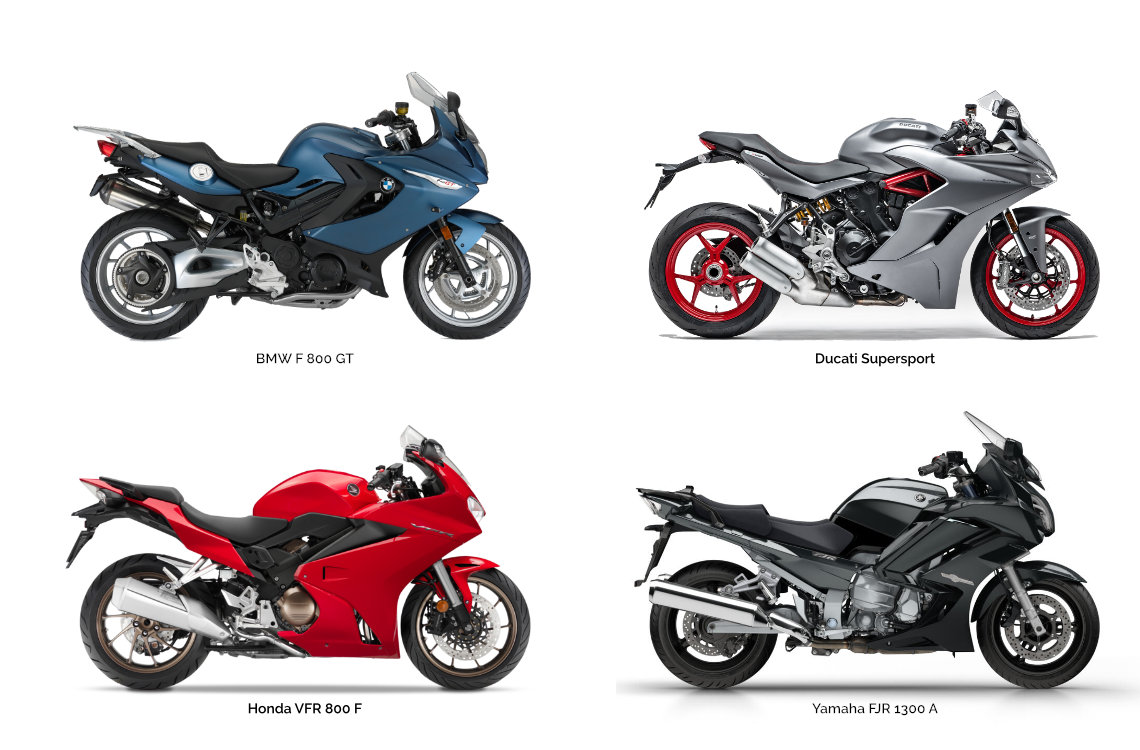 Motorcycle types: Sport Touring