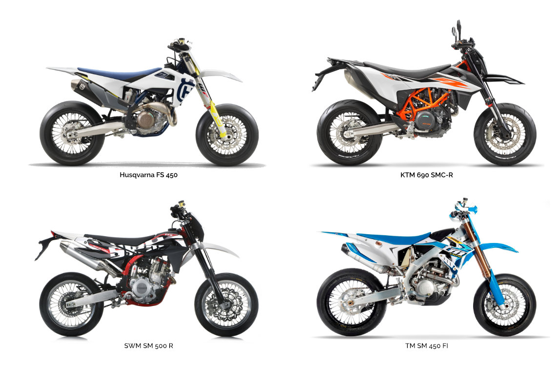 Motorcycle types: Supermotard