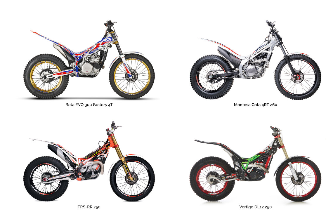 Motorcycle types: Trial
