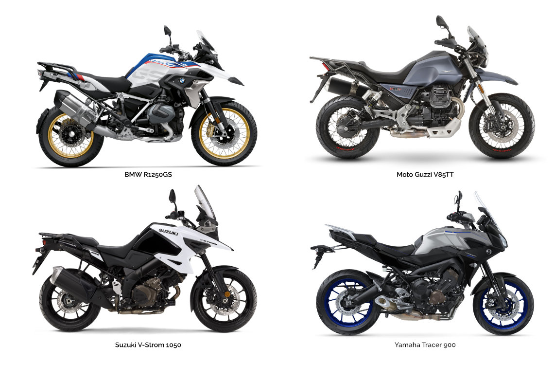 Motorcycle types: Adventure sport